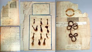 "Family papers including hair genealogy – ""My Children's Hair"" (1808-1833) & Northwest Territories (1856-1859)"