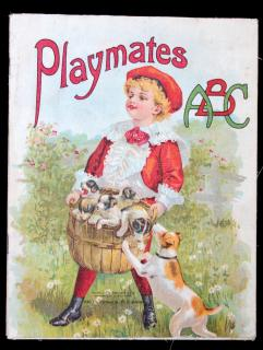 Playmates ABC. Charles E. Graham & Co..Newark NJ.c1900