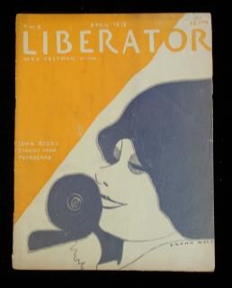 Liberator, April 1918 Edition, Vol. 1 No. 2. Liberator Publishing Company.New York.6666