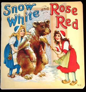 Frances Brundage Snow White and Rose Red. Center pages detached from staples. Some  staple rust. 1929
