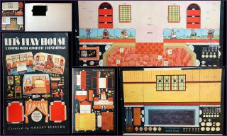 Robert Bezucha  Let's Play House - 3 Rooms with Complete Furnishings . Whitman.Racine WI.1932