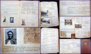 Book of Origins -Genealogy of Isobel Kemp Cox – Complied by Marion Buckley Cox,branching back to a witness of the signing of the Magna CartaBailey's (6th Ed) Photo=Ancestral Record with Supplements.