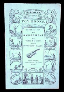 Instruction and Amusement for the Young. A Series of Improving Tales.S. BabcockNew Haven c. 1841
