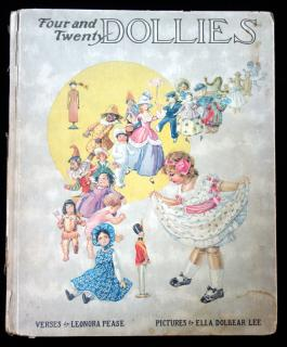 Leonora Pease. Four and Twenty Dollies. Hamming Publishing Co. Chicago. 1914