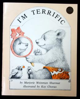 Marjorie Weinman Sharmat. I'm Terrific. Scholastic Book Services. New York, n.d.