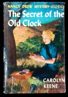 Carolyn Keene . The Secret of the Old Clock, Nancy Drew Mystery Stories. Grosset & Dunlap.New York.1930