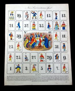 Neues Carricaturen Spiel [New Caricatures Game]. .Germany.1870