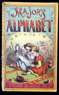 Major's Alphabet. McLoughlin Brothers.New York.1890s