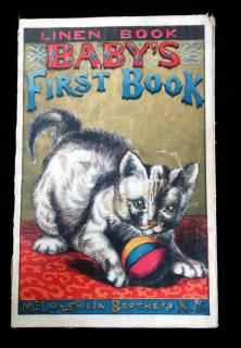 Baby's First Book. McLoughlin Brothers.NY.c1890