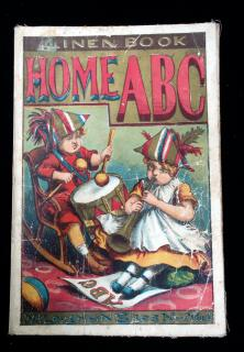 Home ABC. McLoughlin Brothers.New York.c1880