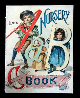A Nursery ABC Book. McLoughlin Brothers.New York.1900