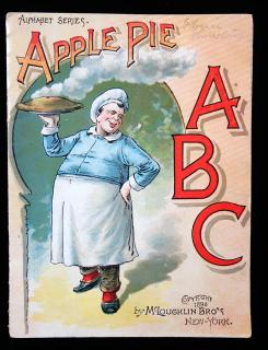 Apple Pie, ABC; Alphabet Series. McLoughlin Bros..New York..18901
