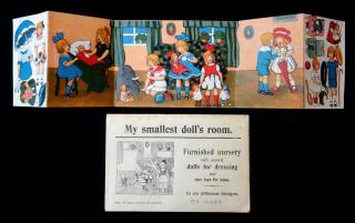 My Smallest Doll's Room - Children's Play Room . ..c1930