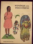 Paper Doll 1933 Wenonah Indian Friend