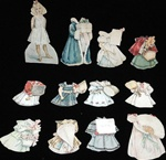 Stokes 1895  A Year of Paper Doll